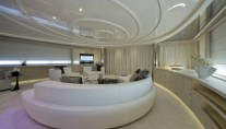 Luxurious interior on board Darlings Danama Superyacht by CRN